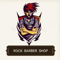 Rock Barber Shop Logo