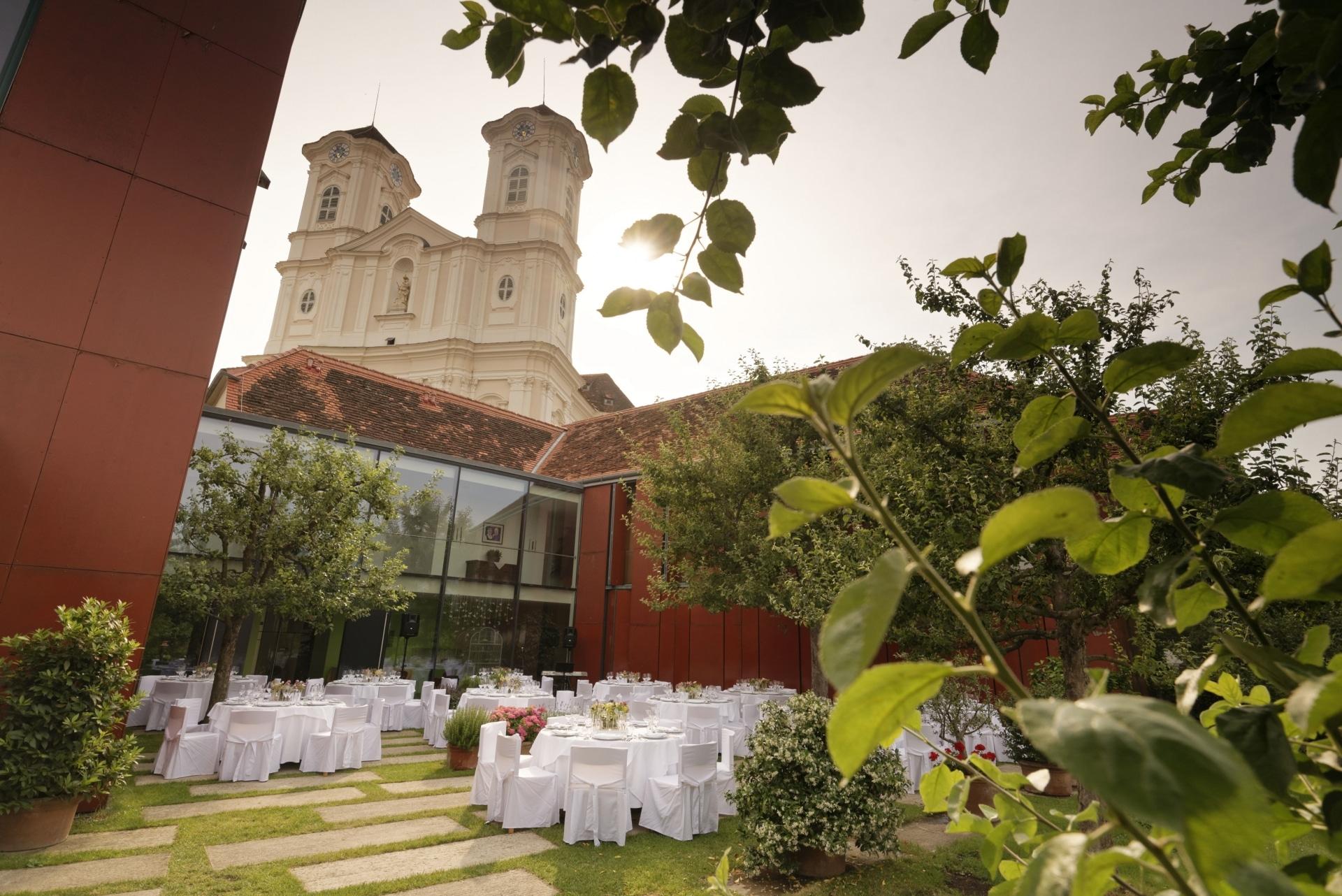 Der Ederer mit Blick auf die Basilika