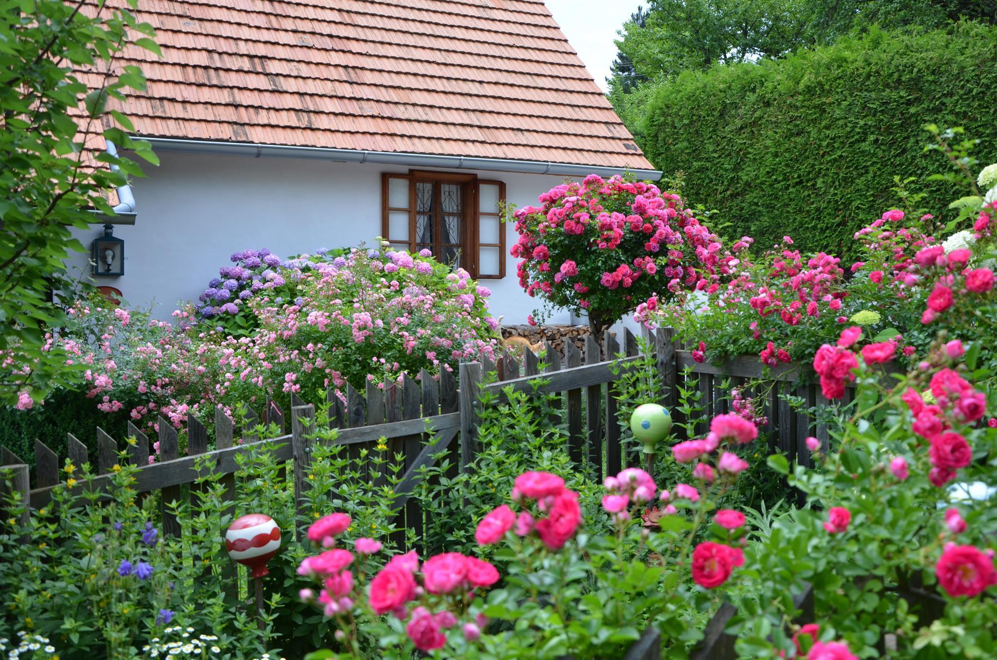 Ferienhaus Moarhofstöckl Kräutergarten