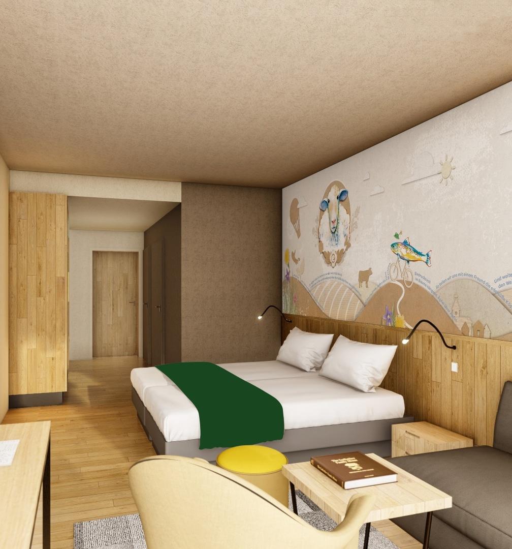 Hotelzimmer Jufa Weiz