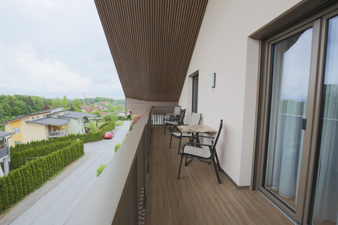 Privatzimmer Ochsenhofer Balkon