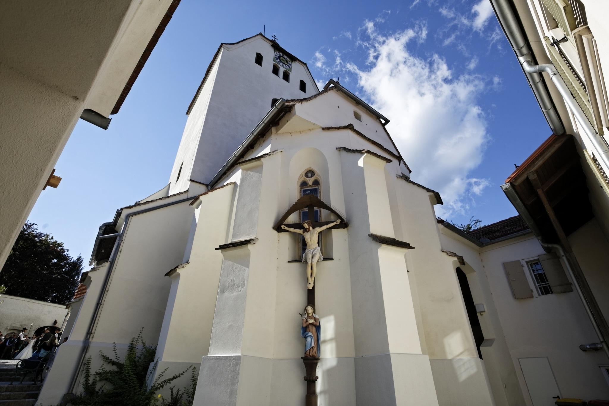 Taborkirche Innenhof (c) Bergmann