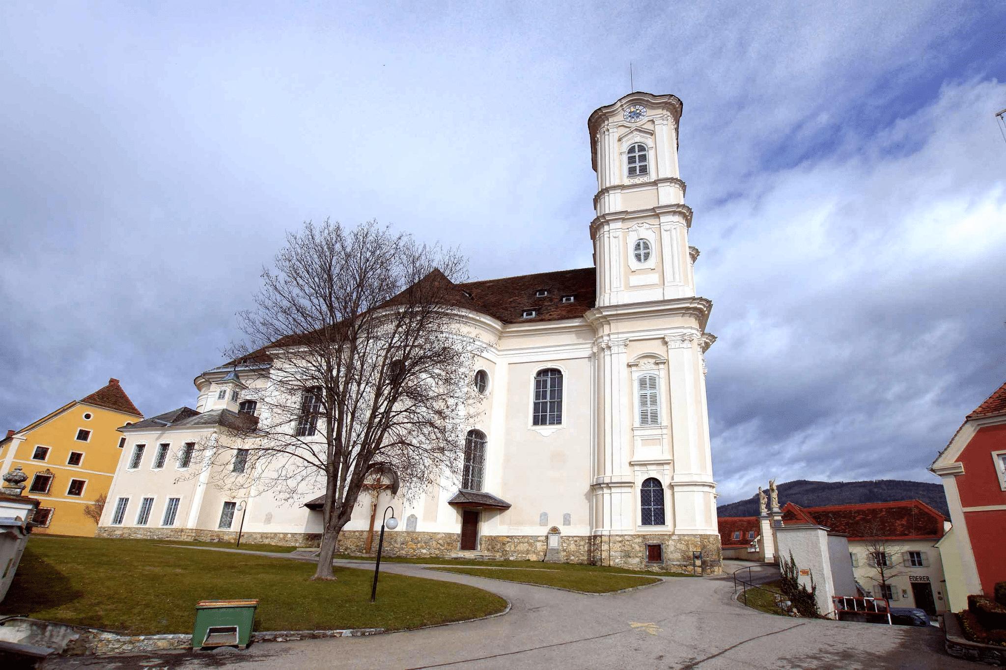 Basilika am Weizberg Außenansicht