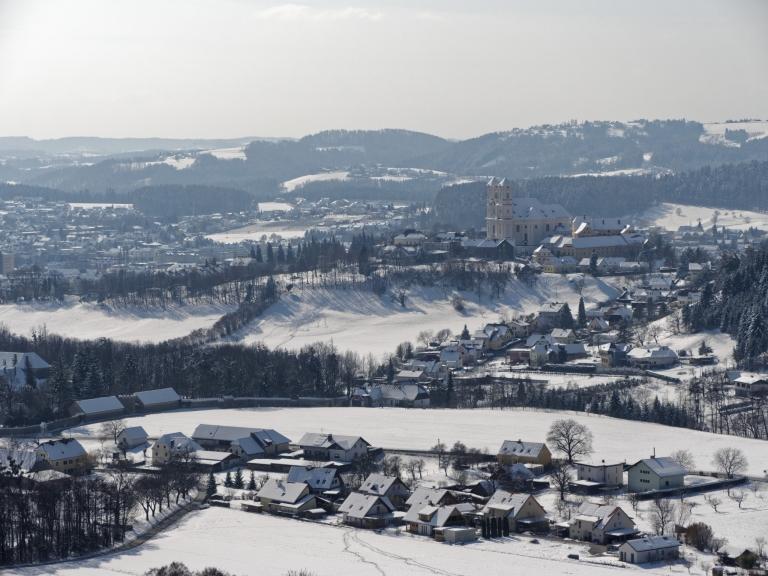 Weiz im Schnee