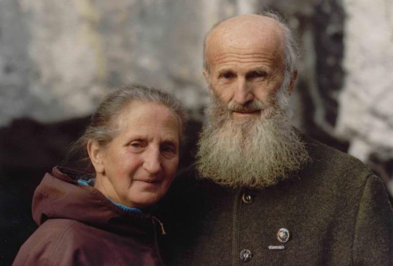 Hermann und Regina Hofer haben das Katerloch erschlossen