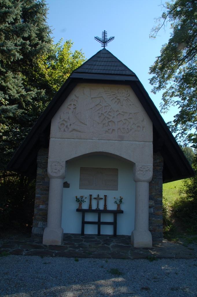 Hubertuskapelle - Fitnesslaufstrecke St. Ruprecht an der Raab