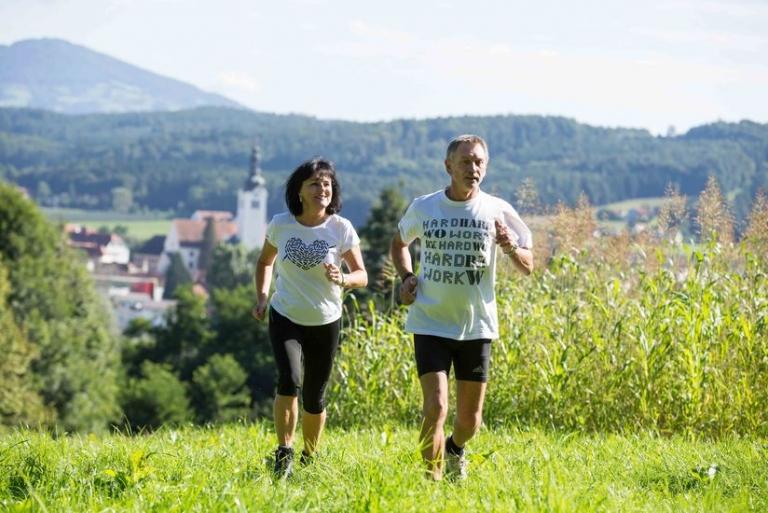 Laufen in St. Ruprecht