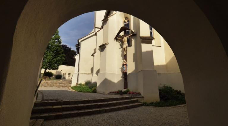 Taborkirche Eingangsbereich