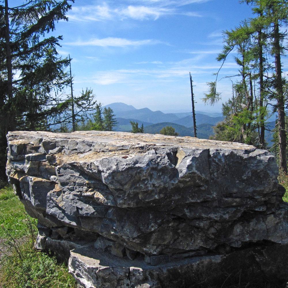 Zetz Gipfelstein