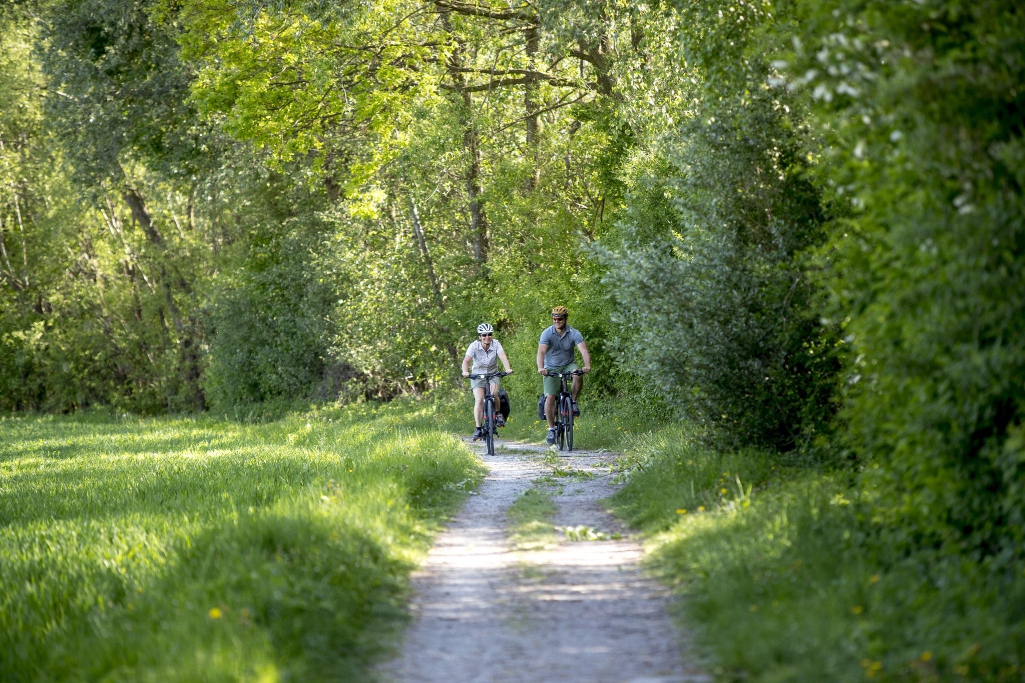 am Feistritztalradweg, Oststeiermark