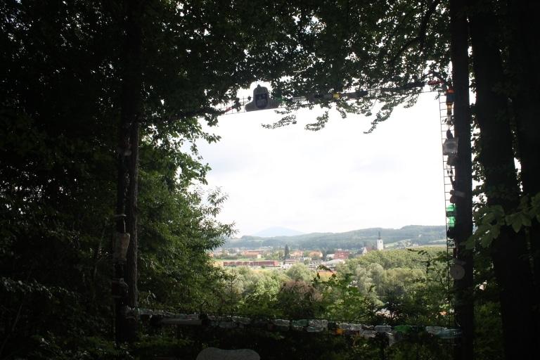 DDD-Fernseher mit wunderschöner Aussicht auf St. Ruprecht an der Raab