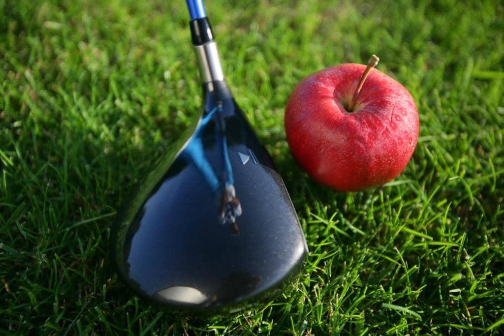 Golfschlaeger Apfel
