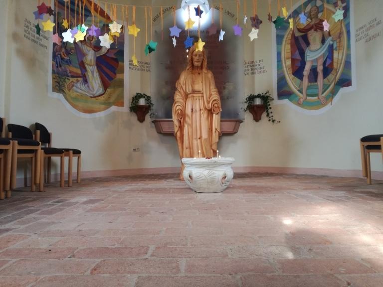 Kernkapelle innen