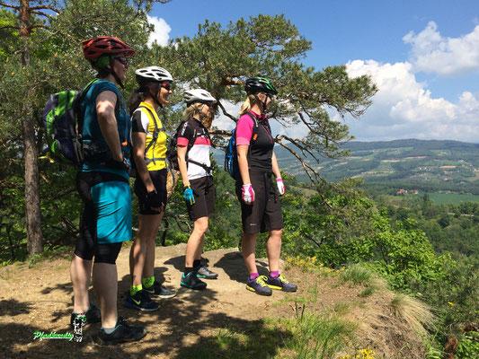 Mountainbike Aussicht