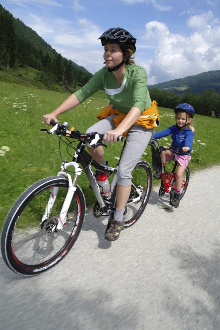 Radfahren mit Kindern Steiermark