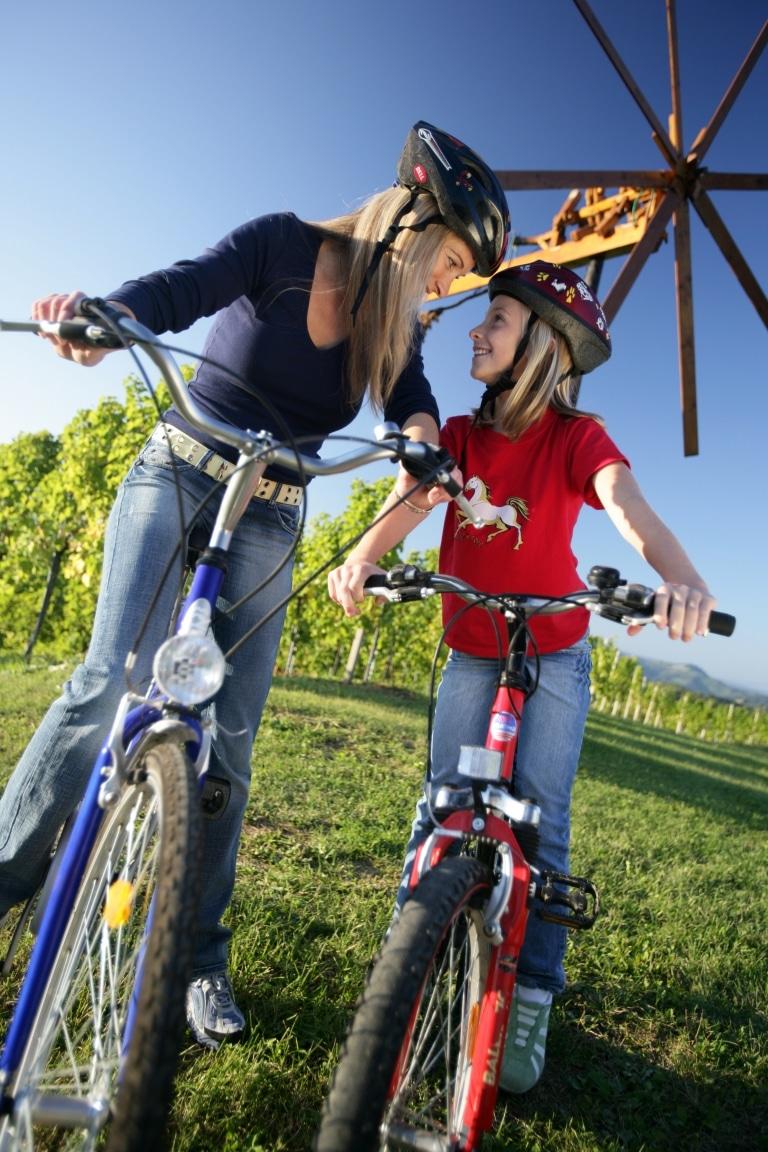 Rad Familie Kinder Radurlaub Steiermark Weinland