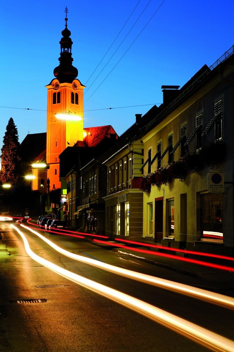 St. Ruprecht bei Nacht