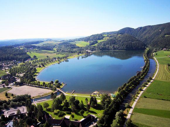 Stubenbergsee-Luftaufnahme