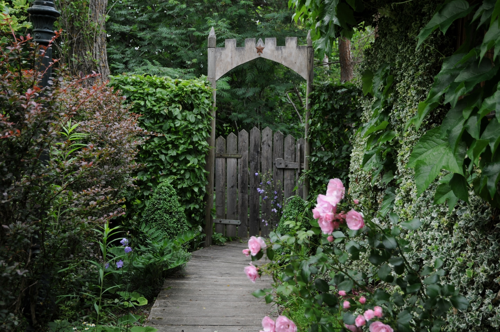 Sulamith Garten Gartentor