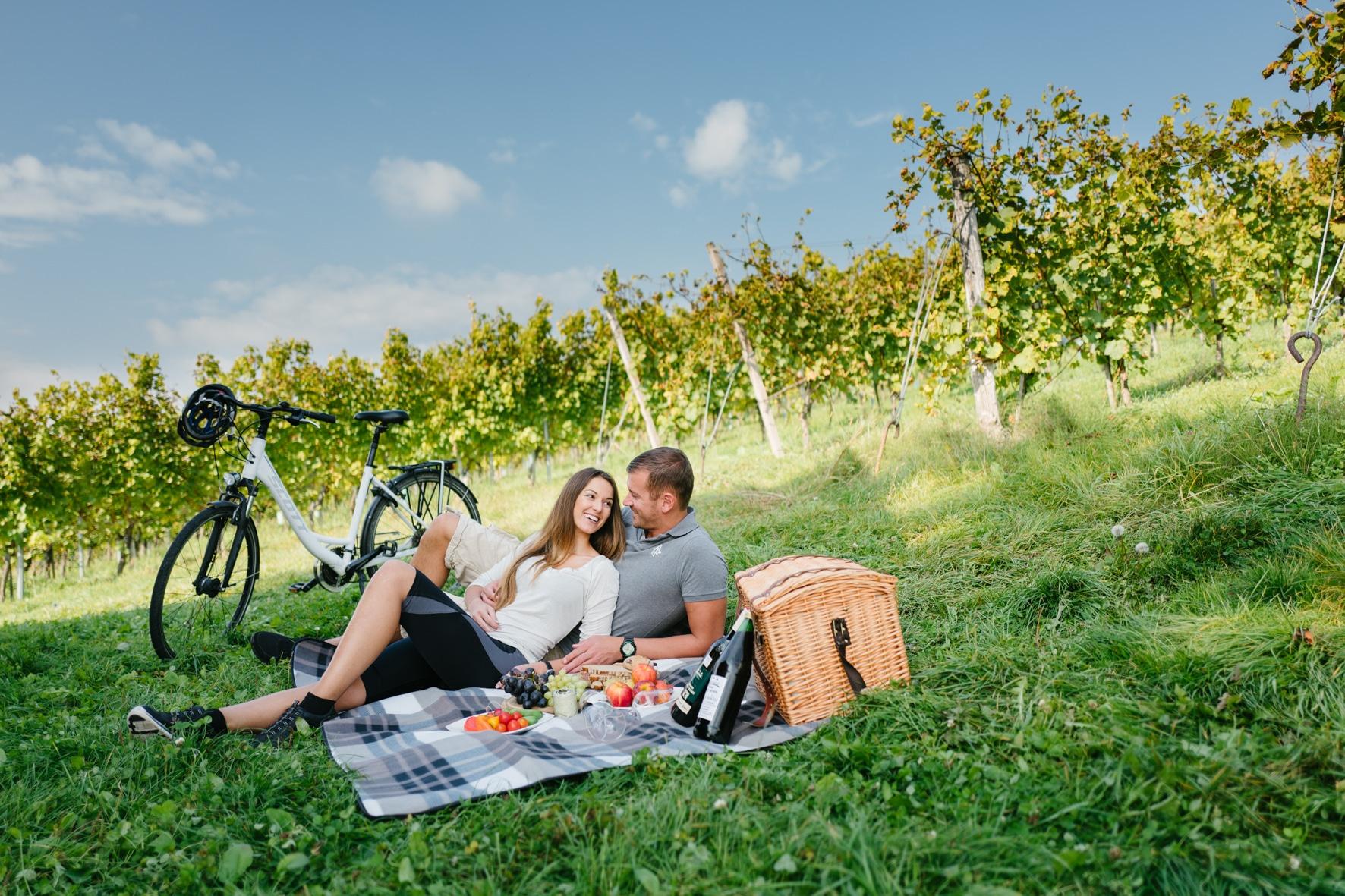 Picknick mit dem Rad St. Ruprecht an der Raab