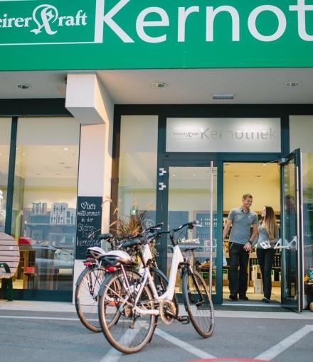 Radfahren Steirerkraft Kernothek St. Ruprecht