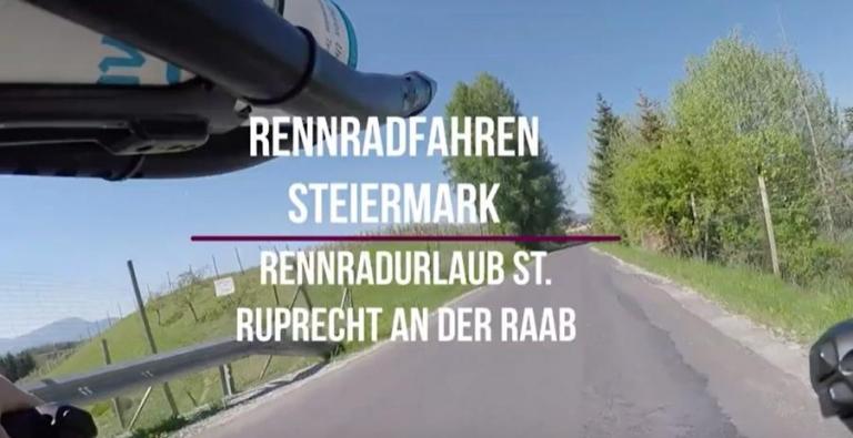 Videoausschnitt Frühling Rennrad St. Ruprecht