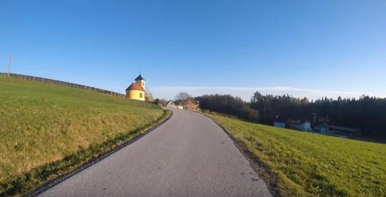 Videoausschnitt Herbst Rennrad St. Ruprecht