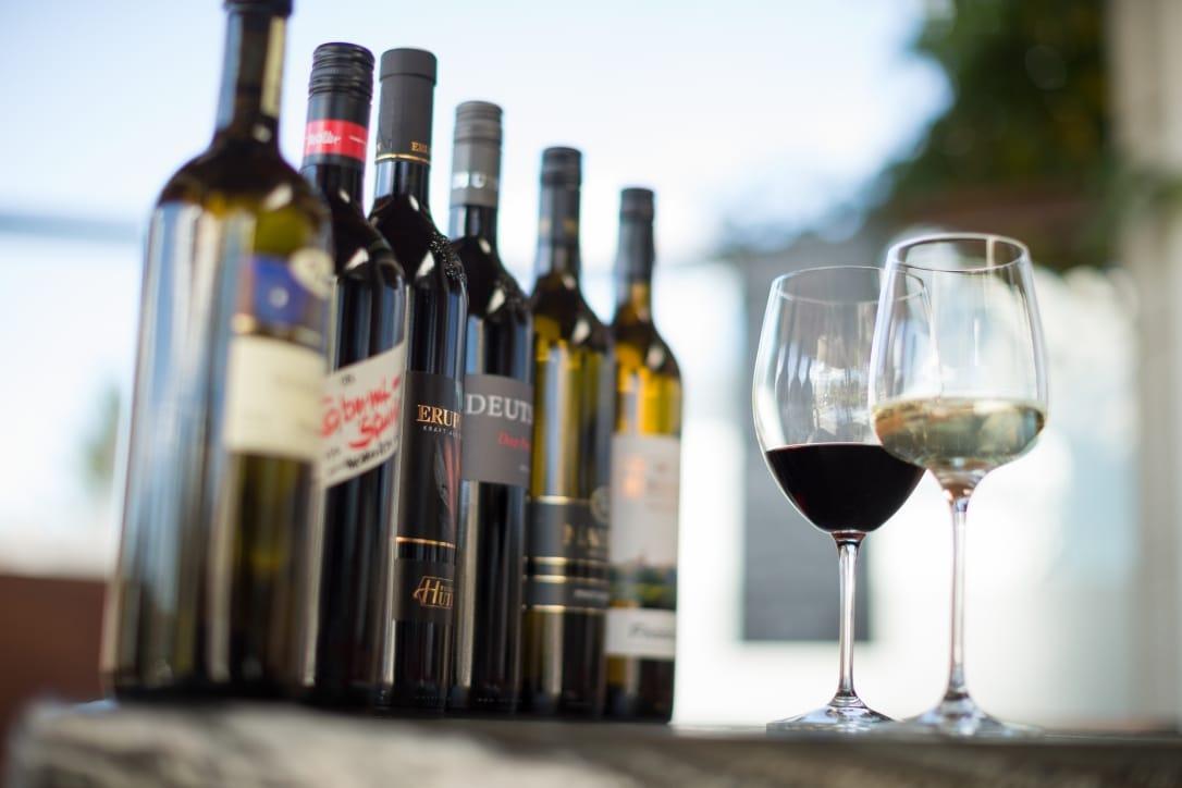 Garten-Hotel Ochensberger Wein