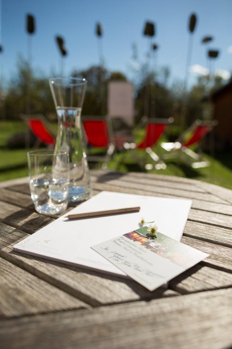 Garten-Hotel Ochensberger Seminar im Grünen