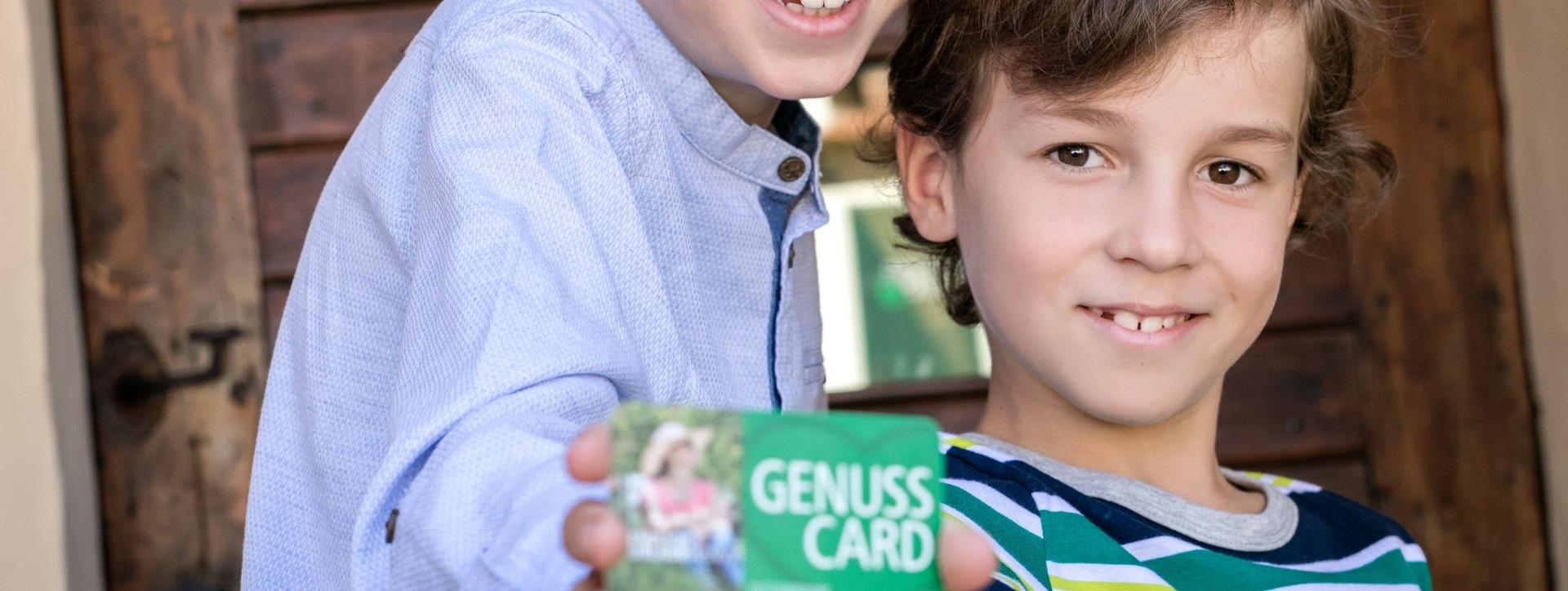 Ausflugsziel GenussCard (