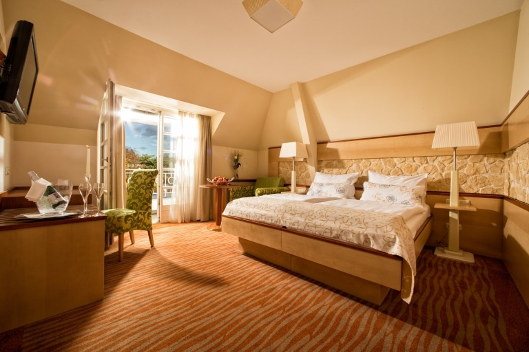 Zimmer Garten-Hotel Ochensberger