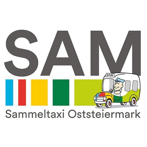 Sammeltaxi Oststeiermark Sam Logo
