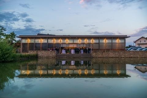 Krottendorfer Teich während Veranstaltung