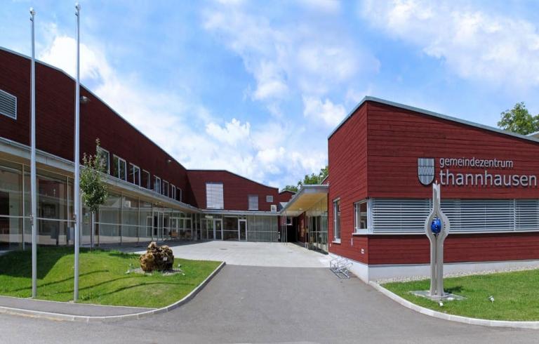 Gemeindezentrum Thannhausen von außen