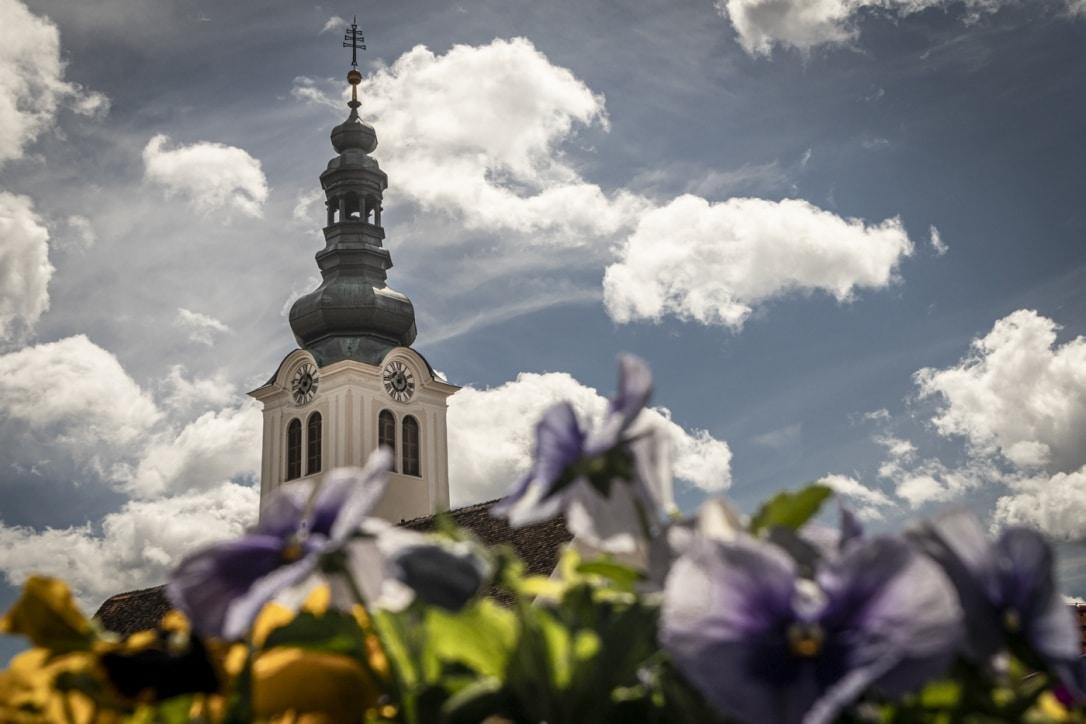 Kirche Blumen