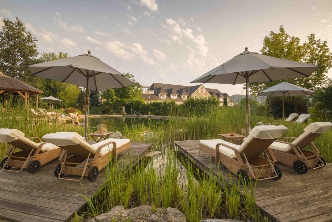 Naturschwimmteich Garten-Hotel Ochensberger