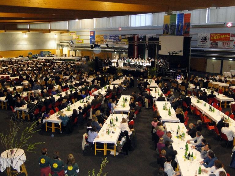 Stadthalle Weiz während Veranstaltung