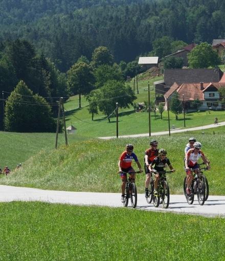 Sie sehen ein Foto von Radfahrern