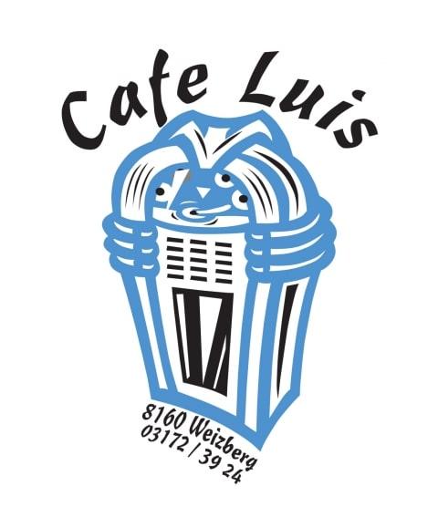 Sie sehen das Logo vom Cafe Luis