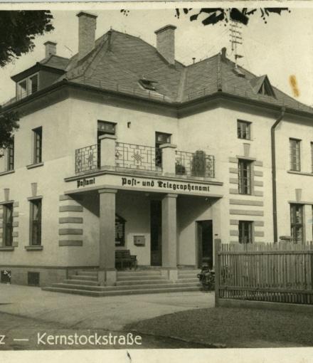 Weiz Kernstockstraße Foto Franz Wabnegg 1930 Sammlung Museumsverein Weiz 2017 Vorderseite