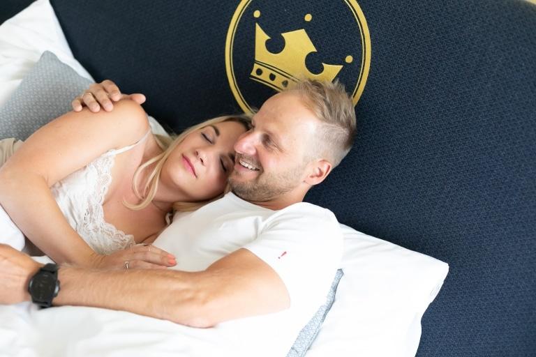 Bild eines Schlafzimmers im Stadthotel zur goldenen Krone
