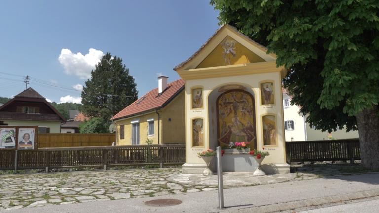 Predingkapelle neben dem Weizbach