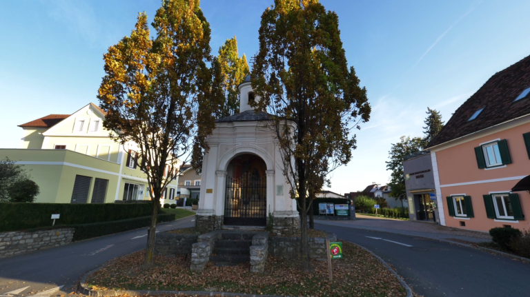 Wegscheidkapelle von vorne