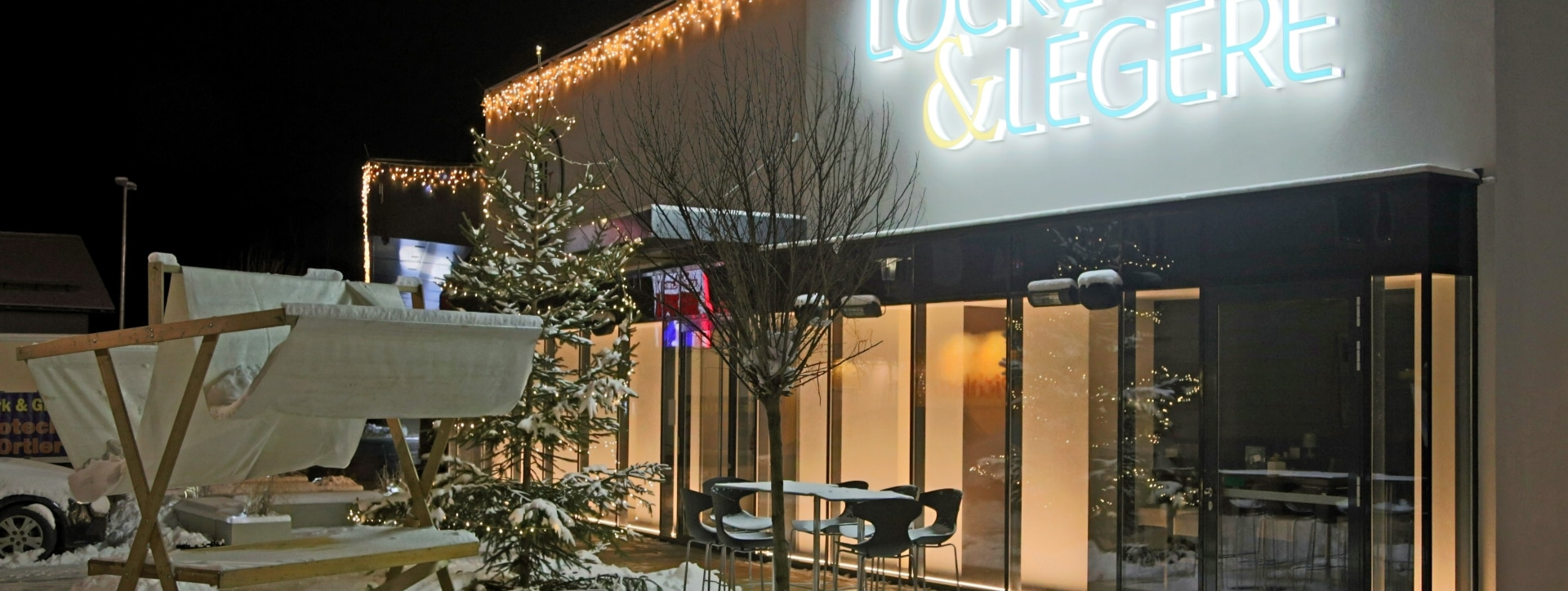 Hotel Locker & Légere im Winter