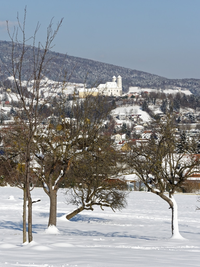 Weiz im Winter