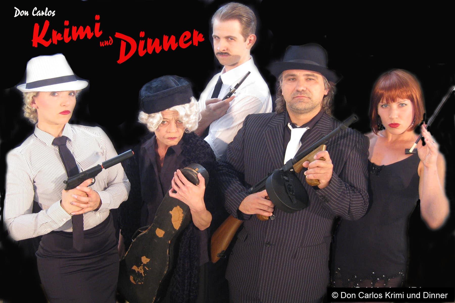 Dinner & Crime (Garten-Hotel Ochensberger)