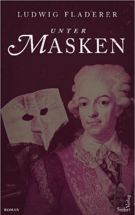 "Lesung ludwig Fladerer ""Unter Masken"""